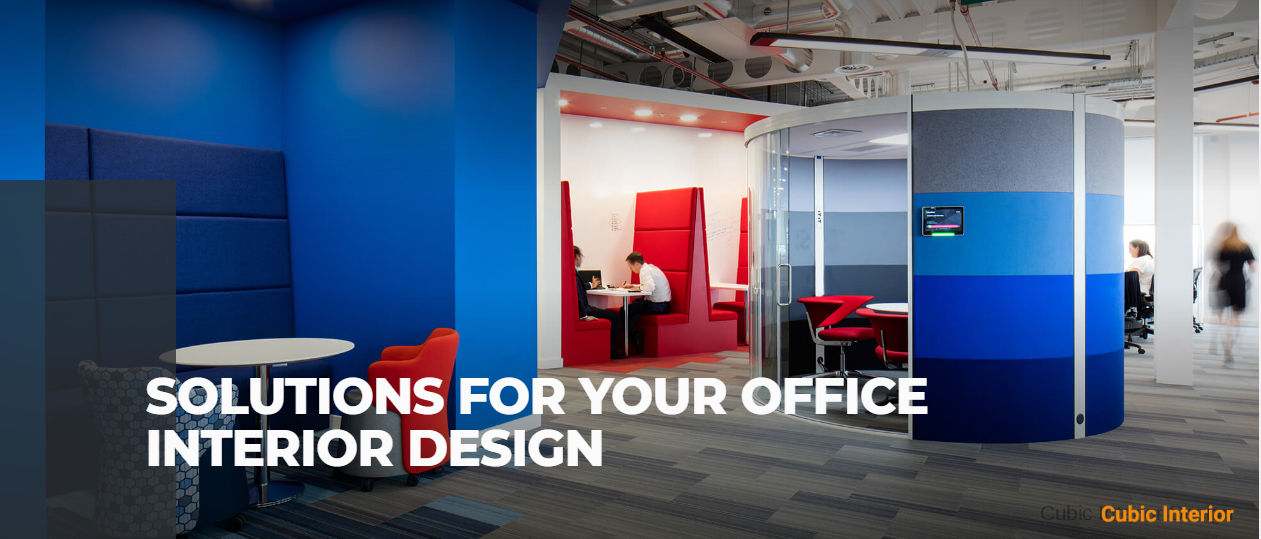 Solutions for your office interior design