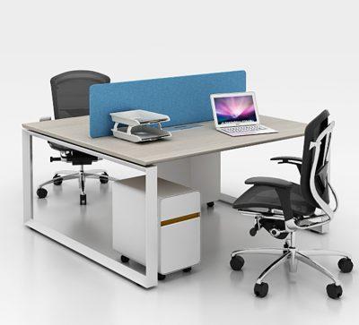 2 person workstation desk