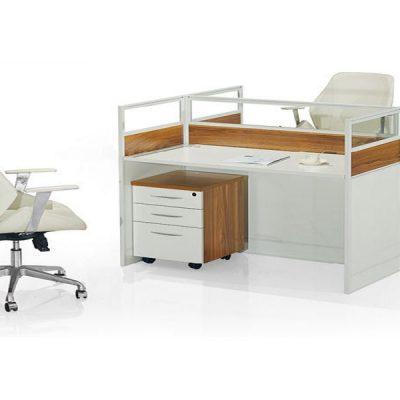 modern office workstation desk