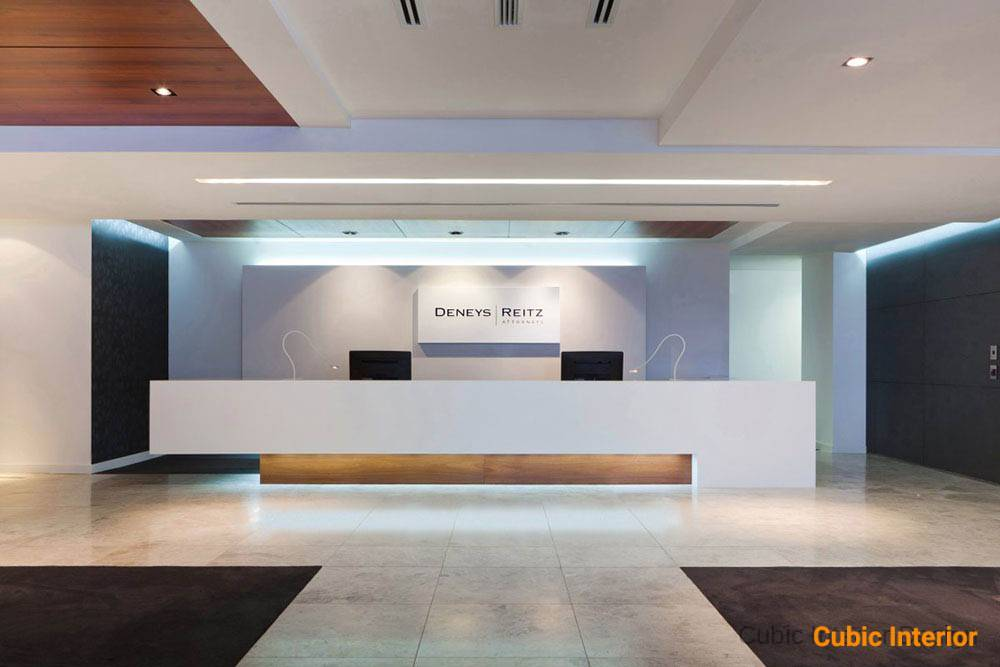 reception interior design idea in BD