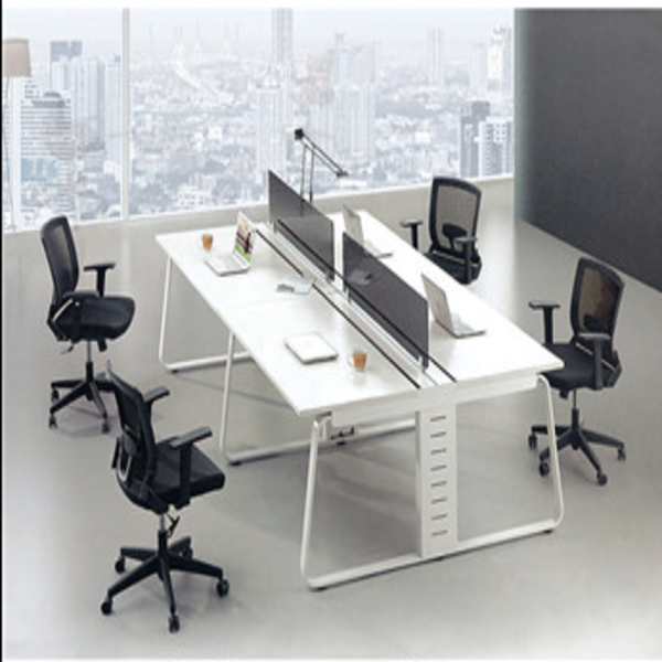 office interior design for four person workstation