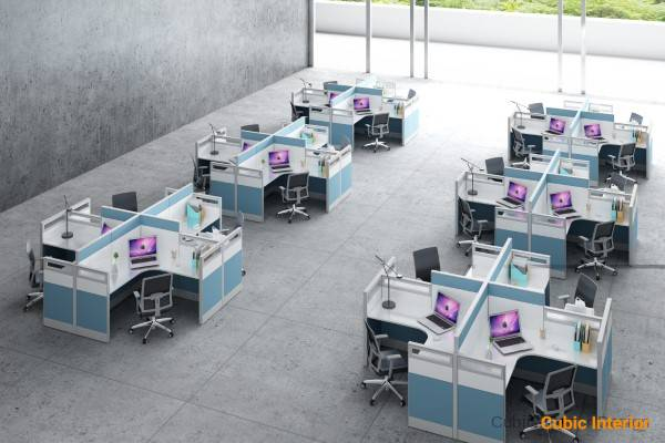 Modular Office Workplaces for office workstation