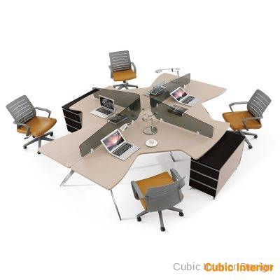 Office Table for office workstation which is relevant to Executive Desk 00043