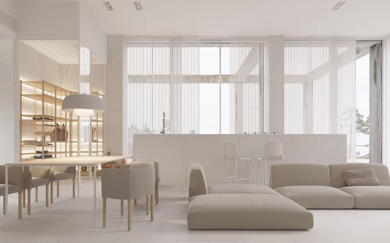 Minimalist Interior design for interior design