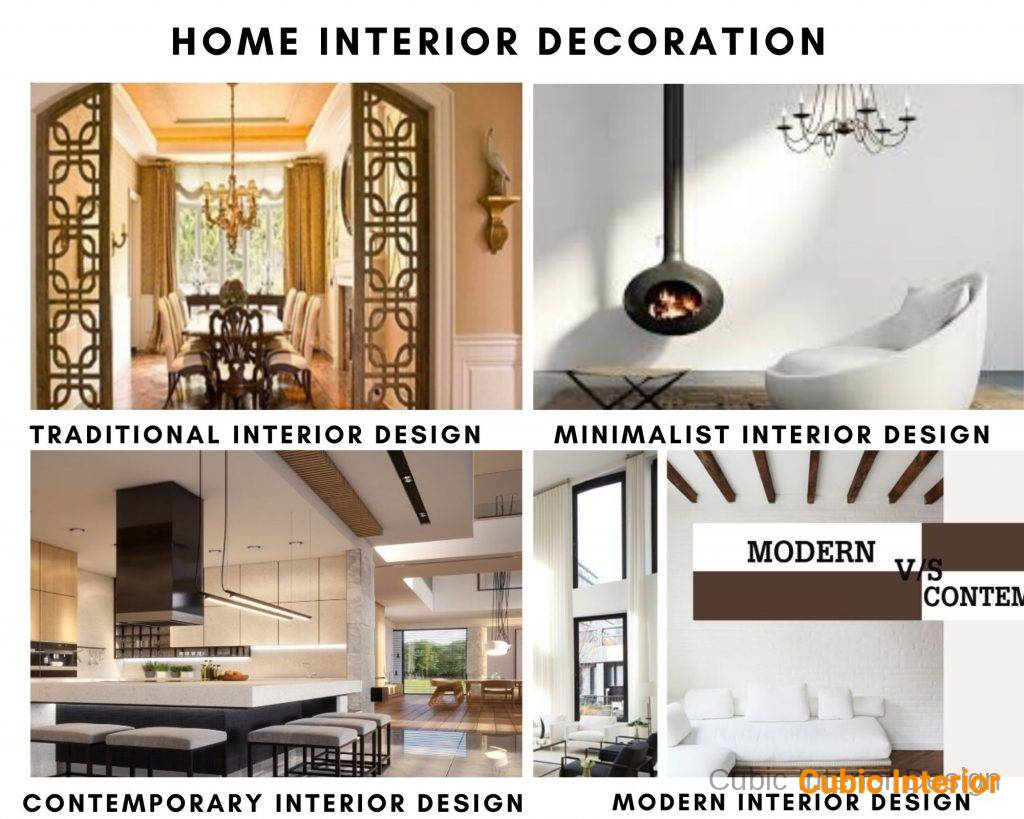 home interior decoration for interior design