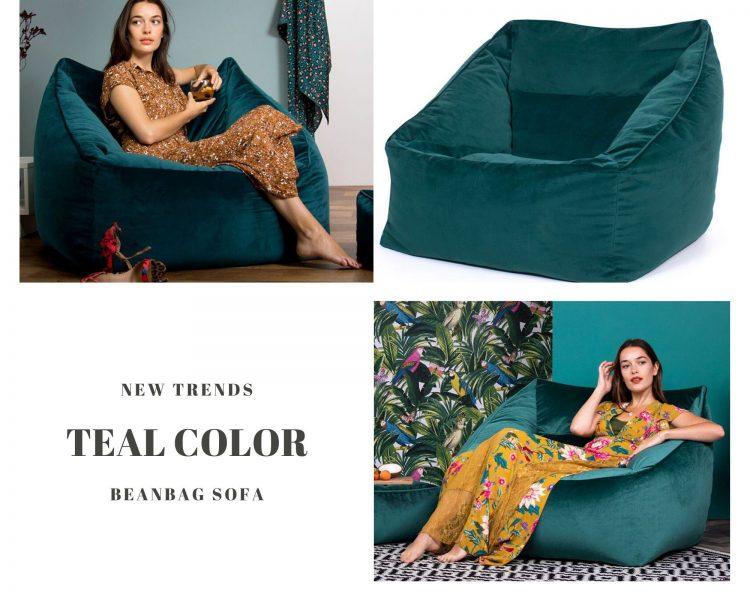 super soft beanbag sofa